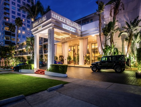 Beverly Hills Plaza Hotel & Spa - Hotel Entrance