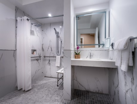 Accessible 1 Bedroom Luxury Suite - Private Bathroom